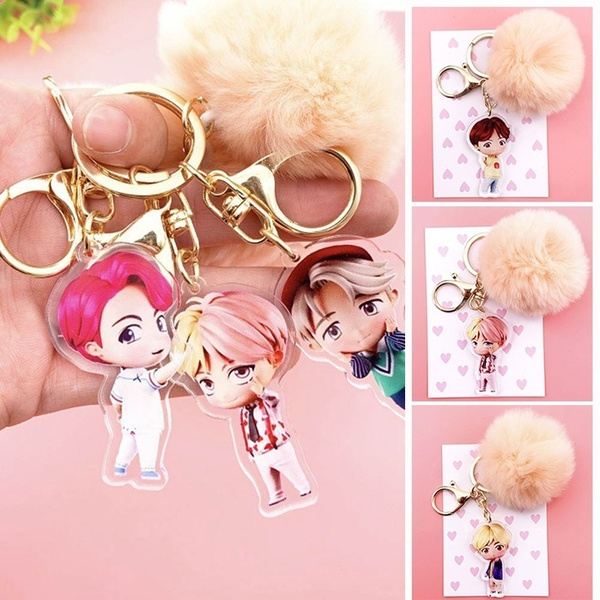 K-Pop, BT, hair, keyringkeychain