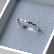 Sterling, cute, DIAMOND, diamondthinring