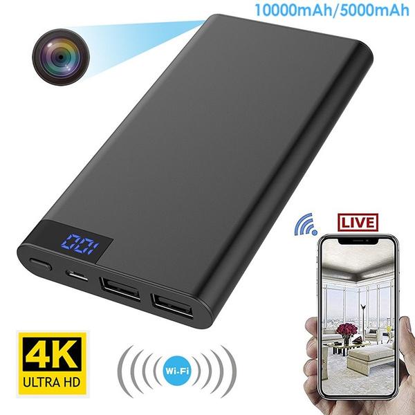 5000mAh Power Bank 1080P Mini DVR Hidden Camera Night Vision Video Recorder