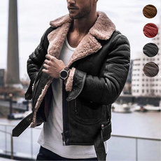 motorcyclejacket, plussizecoatformen, fur, Winter
