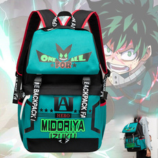 travel backpack, deku, myheroacademia, Cosplay