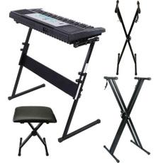 black, musicstand, Convenient, Keyboards