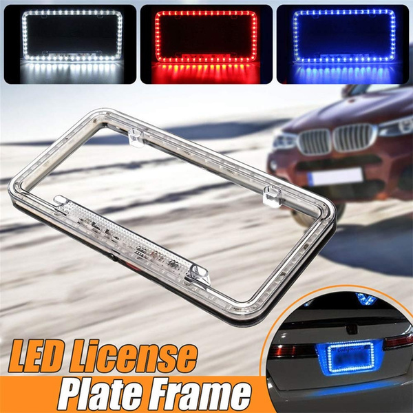 Fanmats 21581 License Plate Frame NFL Los Angeles Chargers