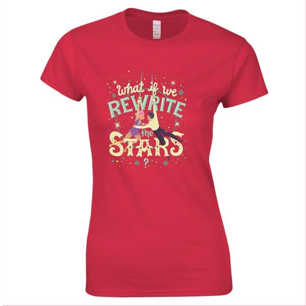 Musical Movie Greatest Showman Womens Ladies T-Shirt
