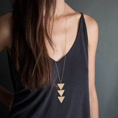 trendy necklace, longchain, Jewelry, Chain