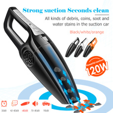 Portable 120w Car Vacuum Cleaner 3600mbar Wet Dry Dual Use