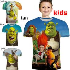 kdistshirtboy, Funny, Fashion, 3dprintedkidstshirt