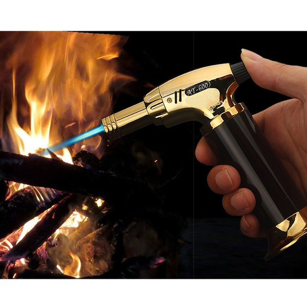 Kitchen Baking Refilled Torch Barbecue Lighter Gas Butane Torch Mini  Welding Gun Gas Lighter Jet Torch