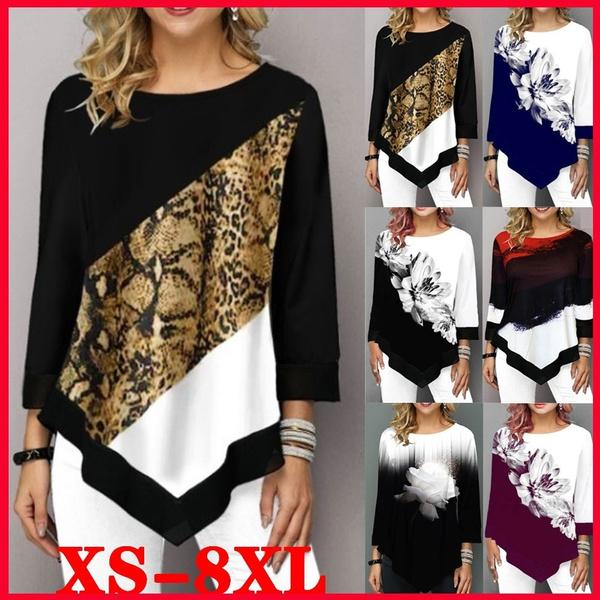 blouse, autumnwinter, Plus Size, Cotton