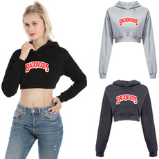 womenhoodedcroptop, womenpullovertop, Fashion, women crop top