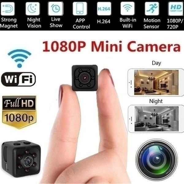 Mini, spycamcorder, Remote, videocamera