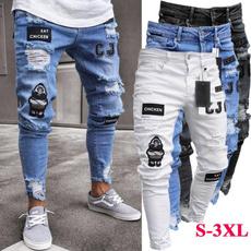 Hip Hop, men's jeans, Fashion, men trousers