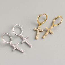 huggieearring, daintyearring, pendantearring, Jewelry