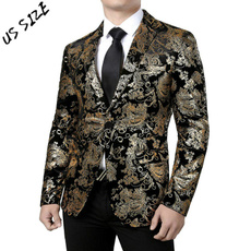 paisley, Plus Size, Blazer, Men's Fashion