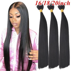 humanhairbundle, Black wig, human hair, Hair Extensions