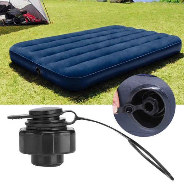 22mm Black Plastic Inflatable Air Bed Mattress Replacement Anti-Leak Valve for Air Mattress Products