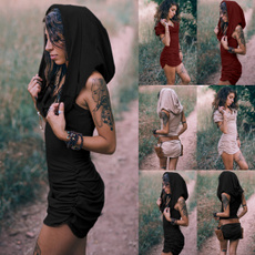 bohemia, Mini, Plus Size, Cosplay Costume