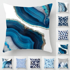 Blues, Throw Pillow case, Polyester, Fashion