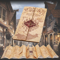 Map, Home Decor, themaraudersmap, castlemap
