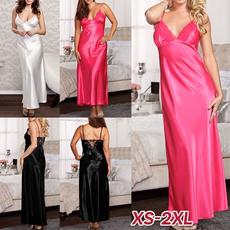 night dress, Plus Size, slingpajama, Lace