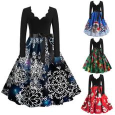 Vintage Dresses, Long Sleeve, Vintage, Dress