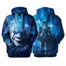 King, Fashion, 3D hoodies, unisex