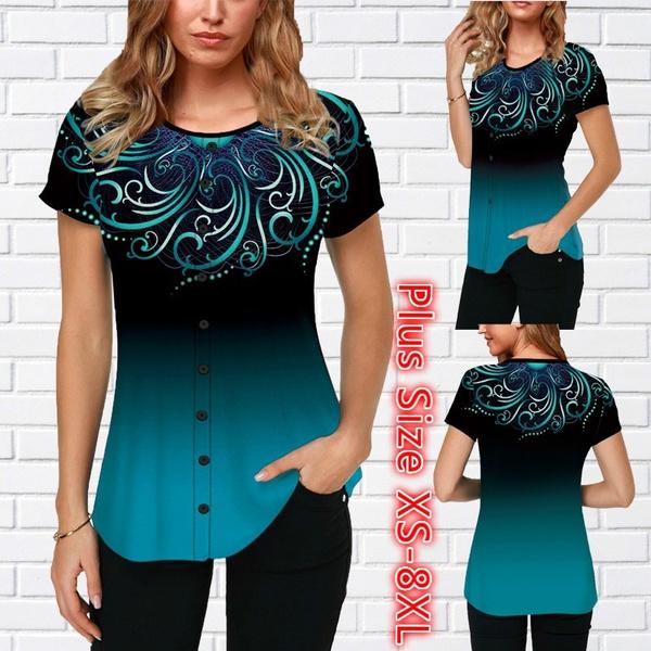 blouse, Plus Size, Women Blouse, summer t-shirts