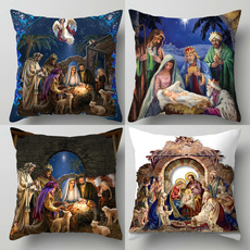 Home Decor, Cover, jesus, nativitypillowcase