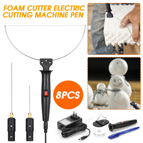 Foam Cutter Electric Cutting Machine Pen Tools Kit 100-240V 18W