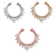 Fashion, Jewelry, nosehoop, noseringsstud