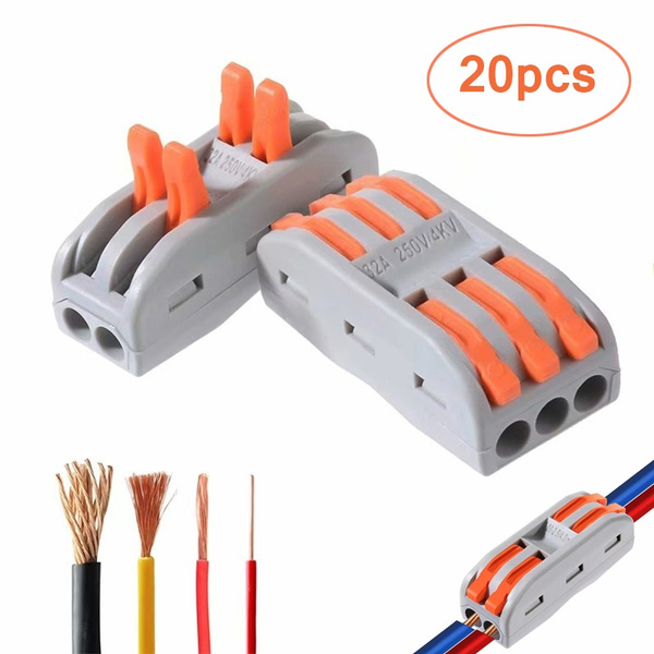 Two-way Lever Fast Wire Connector Electrical Conductor Compact Wire on epoxy for wiring, electrical wiring 3 wire plug, tools for wiring, electrical cable connectors, lighting for wiring, electrical connectors plugs, clips for wiring, electrical wiring couplers, electrical wire connectors,