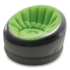 Chair, Green, furniturecampingbeachlargebeanbaggaming, Inflatable