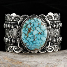 Sterling, Turquoise, DIAMOND, 925 silver rings