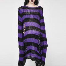 holesweater, knitted, Goth, Fashion