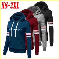 hoody sweatshirt, Pocket, Fashion, letter print
