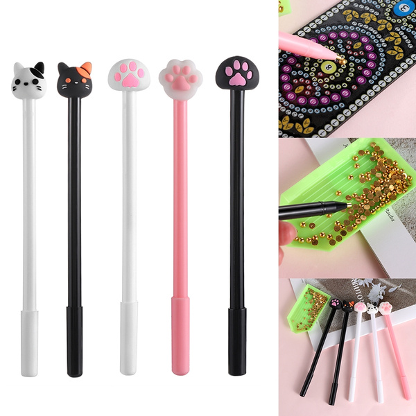 DIY Embroidery 5D Diamond Painting Point Drill Pen Cat Claw Pens Cross Stitch