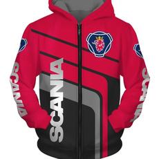 scaniahoodie, printed, pullover hoodie, Sleeve