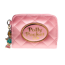 wallets for women, pink, quilted, purses