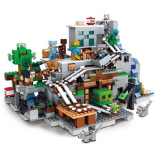 Blocks, myworld, Gifts, cave
