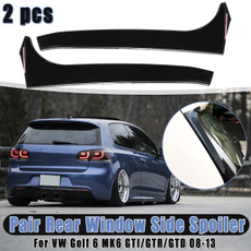 spoiler, Golf, rearwindowspoiler, Cars