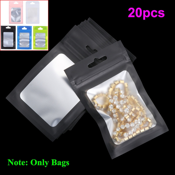 Waterproof Aluminum Foil Ziplock Bags Packaging Bag Storage Reclosable Pouches