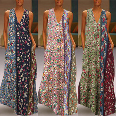Summer, Plus Size, dresskaftan, Evening Dress
