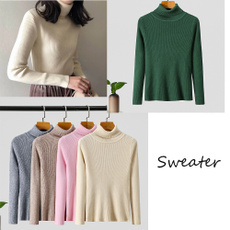 knitted, Women Sweater, Winter, pullover sweater