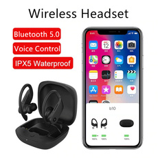 Headset, Ear Bud, wirelessearphone, Hooks