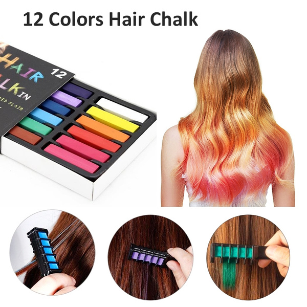 hairchalk, hair, softpastel, Pastels