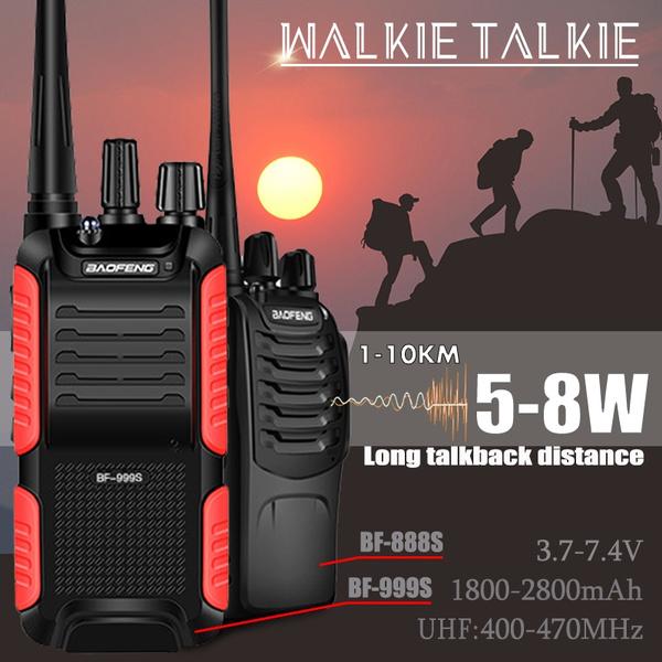 1PCS Baofeng BF-888S 5W 400-470MHz 16CH Two-way Ham Radio Handheld Walkie Talkie