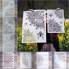 Owl, Wall Art, mandalastencil, scrapbookingamppapercraft