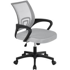 Gray, Office, computermeshchair, midbackmeshofficechair