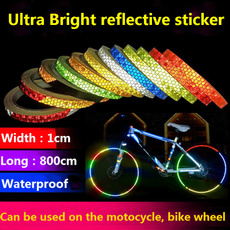 Wheels, Cycling, Sports & Outdoors, reflectivesticker