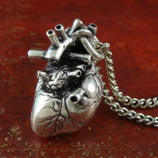 personalnecklace, Heart, punk necklace, Jewelry